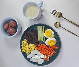 健康减脂早餐 丰盛的能量餐的做法