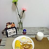 如何把鸡胸肉做嫩,快手早餐的做法图解7