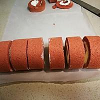 红丝绒奶油蛋糕卷的做法图解25