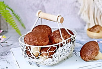 蘑菇豆沙包的做法