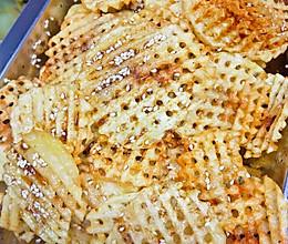 哄小孩的小零食…炸薯格的做法