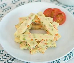 鲜虾蔬菜豆腐糕 宝宝辅食微课堂的做法