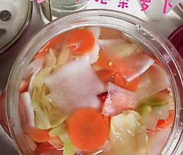 自制泡菜萝卜的做法