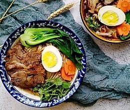 #一道菜表白豆果美食#超丰富卤牛肉面的做法