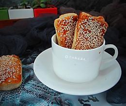芝麻酥饼#年味十足的中式面点#的做法