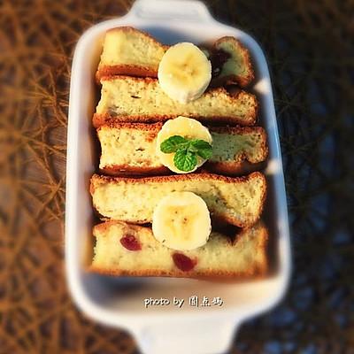 蔓越莓香蕉糯米糕