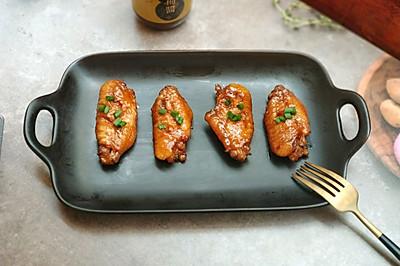 家常菜+黄梅酱橙汁鸡翅