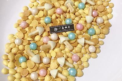 蛋黄小溶豆~自制小零食