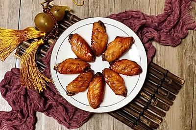 家庭版蜜汁烤鸡翅,孩子们的最爱!