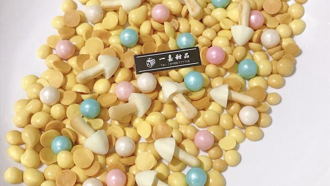 蛋黄小溶豆~自制小零食的做法
