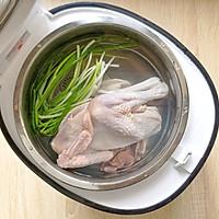 天麻炖鸡汤(缓解头痛、神经衰弱)的做法图解2