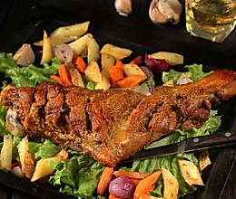 嵌入式烤箱食谱——脆皮烤羊腿的做法
