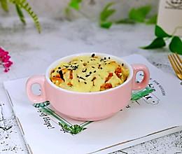 #精品菜谱挑战赛#芝士肉松焗吐司丁的做法