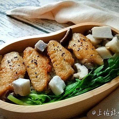 獨家 | 鹽煎雞翅×香菇芋頭飯