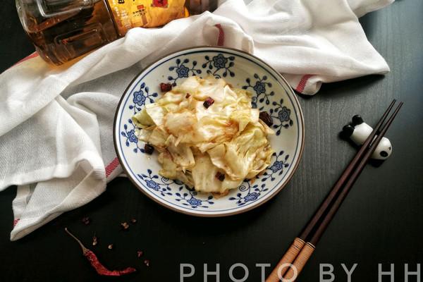 手撕包菜#金龙鱼外婆乡小榨菜籽油 最强家乡菜#的做法