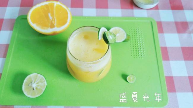 橙味柠香金桔气泡水的做法