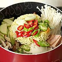 韩国部队汤的做法图解9