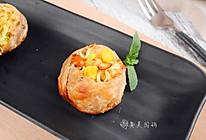 香烤芝士寿司面#小虾创意料理#的做法