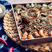 【烤箱版】海鲜大咖