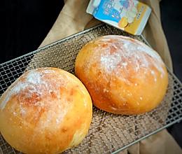 #蛋趣体验#白白的圆面包的做法