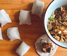 时鲜~香菇笋丁鲜肉小芋饺的做法