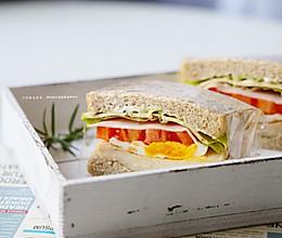 减脂期必备的全麦三明治的做法