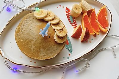 最简单的香蕉松饼