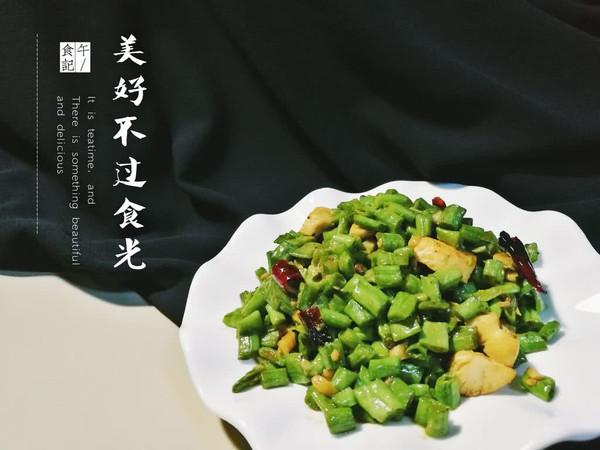 速の午食  鸡丁豇豆的做法