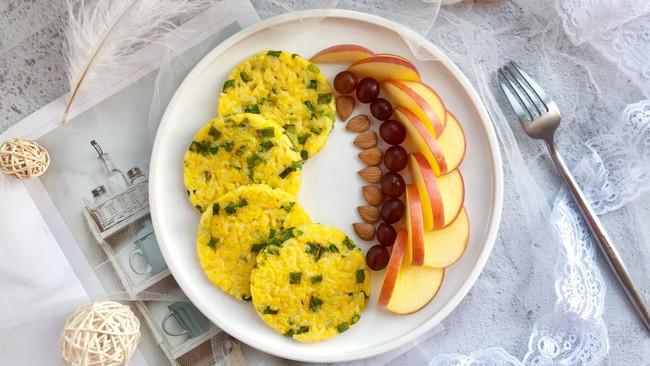 香葱鸡蛋米老头的做法