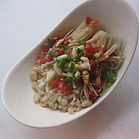 #苏泊尔智能电饭煲#剁椒蒸金针菇的做法图解9