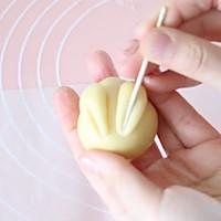萌萌月兔烧果子,松软香甜,最佳春节手工点心的做法图解9