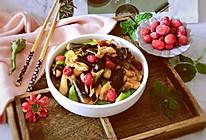 """#""""莓""""好春光日志#""""莓""""炒肉片鸡枞菌的做法"""
