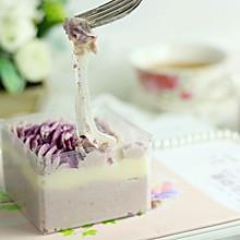 芋泥麻薯盒子蛋糕
