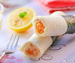 海苔吐司卷 宝宝辅食食谱的做法