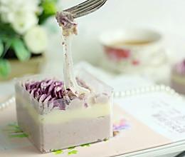 芋泥麻薯盒子蛋糕的做法