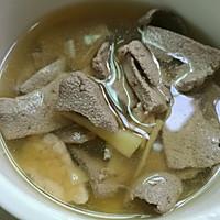 猪肝瘦肉汤的做法图解5