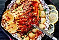 家常土豆烤羊排的做法