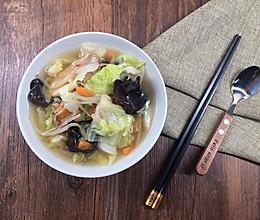蔬菜汤-释放一天的胃的做法