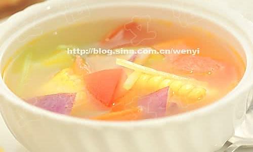 瘦身蔬菜汤的做法