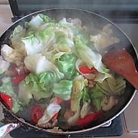 干锅圆白菜的做法图解7