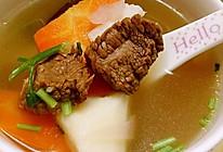 胡萝卜 山药 羊肉汤的做法