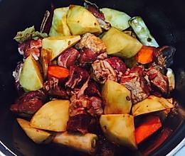 高压锅牛肉焖土豆的做法