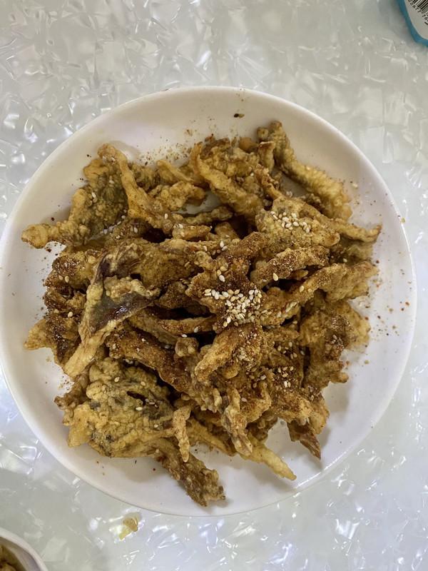 超简单的椒盐蘑菇的做法