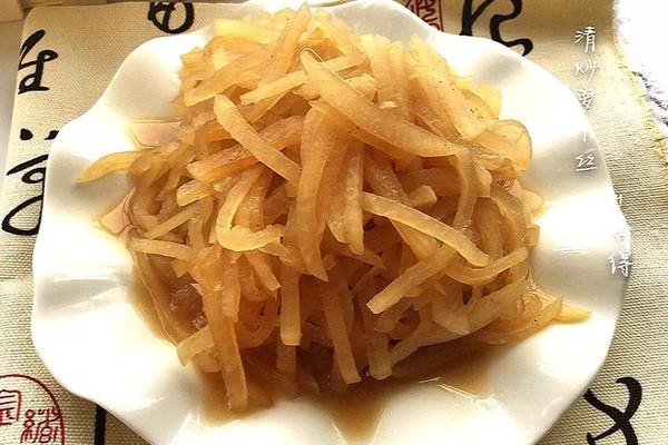 之三——「清炒萝卜丝」#菁选酱油试用#的做法