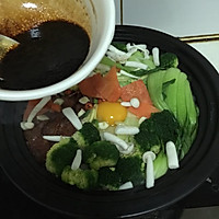 菁选酱油试用之四川麻辣肠煲仔饭的做法图解7