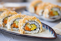 反转肉松寿司卷的做法