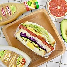 沙拉三明治