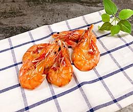 #硬核菜谱制作人#健康低脂小零食烤虾干的做法