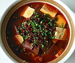 砂锅鸭血豆腐的做法