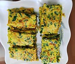 #餐桌上的春日限定#虾皮鸡蛋韭菜饼的做法